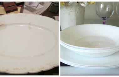 Ваш посуд з часом жовтіє і виглядає не дуже? Поради які навчать вас утримувати посуд в хорошому стані