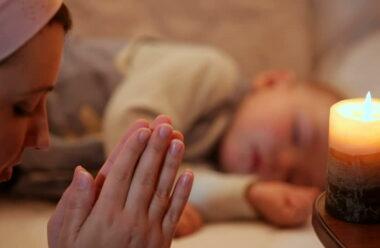 Молитва перед сном, щоб подякувати за цей день.