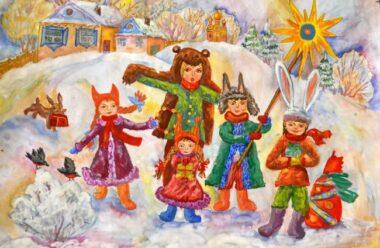 Посівалки на Старий Новий рік. Короткі засівалки Для Дітей