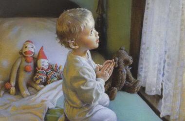 Молитви перед сном. Зроби собі короткий іспит совісті.