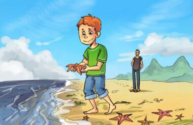 Хлопчик і морські зірки. Надзвичайно повчальна притча.