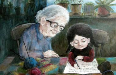 Бабуся вчить онука як прожити правильно своє життя