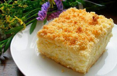 Запашний пиріг з сиром і яблуками. Такого пирога ви ще не пробували