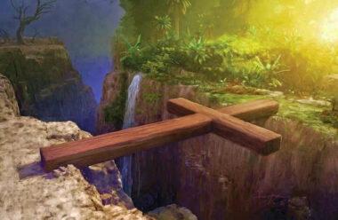 Віршована притча «Два Хрести». Про те як важливо нести кожному свій хрест.