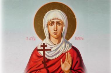23 березня церква вшановує пам'ять святої мучениці Галини