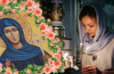 Молитва до святої Євдокії, щоб отримати захист та добробут для сім'ї.
