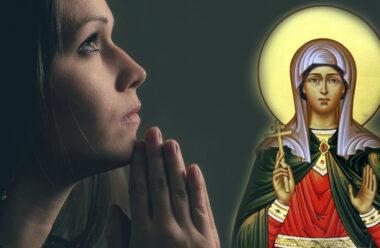 Молитва до ікони мучениці Дарії, яку читають 1 квітня та просять захисту від гріха