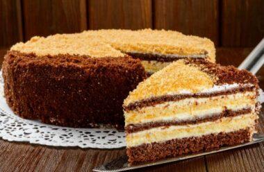 Простий та смачний тортик на швидку руку
