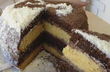 Торт, який підкорить всіх «Мрія життя». Легко і швидко готується!