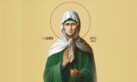 9 квітня — «Матрона Настовиця» Що треба просити у Матрони кожній жінці.