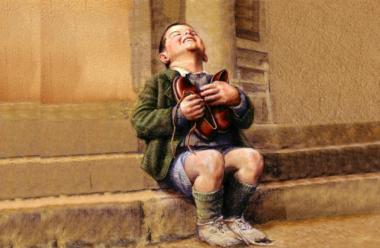 Притча, про нужденного хлопчика, який попросив у Бога черевики. І Бог відповів…