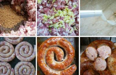 Домашня ковбаса до Великодня. Кращі рецепти. Починаємо приготування до свята вже сьогодні.