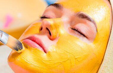 Золота маска від зморшок. За 15 хвилин мінус 10 років.