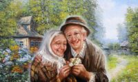 А раньше меньше разводились… Красивый стих о важности семьи!