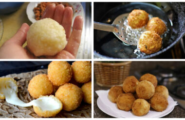 Швидка і смачна закуска: сирні кульки у фритюрі. Смакота яку з'їдають першою.
