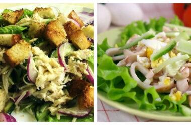 Особливі салати без майонезу, які смачніші за олів'є і шубу. Багато людей готовлять їх в Піст.