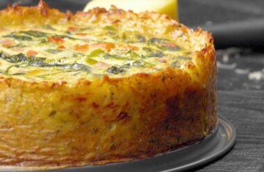 «Драник» — смачний картопляний пиріг з ніжною яєчною начинкою
