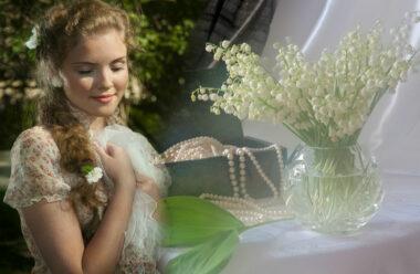 Символом травня є, безперечно, Конвалія. Коротка легенда про цю дивовижну квітку.