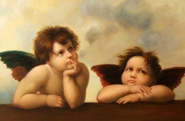 Цікава віршована притча про Ангела, який сидить без роботи, через нас. Давайте частіше писати листи Богу!