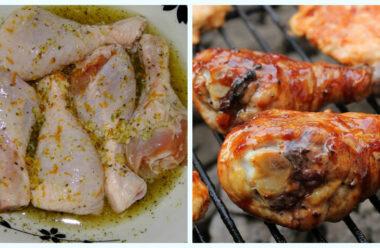 Найкращі маринади для шашлику з курки. М'ясо буде ніжним, соковитим, і ароматним.