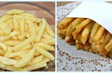 Цікавий рецепт картоплі фрі без краплі жиру: дітям можна хоч через день