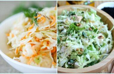 Кращі салати з молодої капусти: як поєднати приємне з корисним