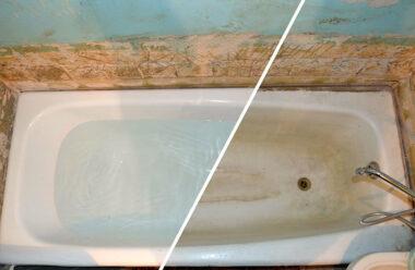 Ваша ванна буде як нова! Відмінний екологічно безпечний засіб!