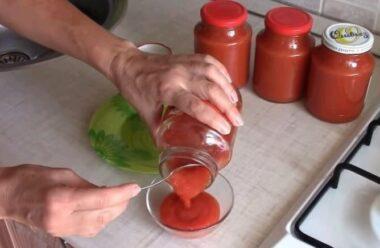 Особливий домашній кетчуп. Ви забудете про магазинний