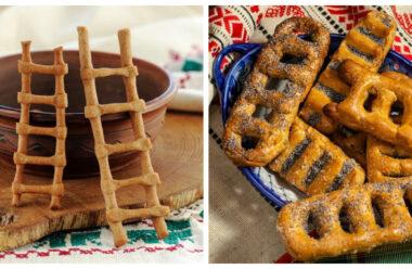 """Печиво """"Драбинки"""" — яке готують до свята Вознесіння. Цю випічку освячують в церкві"""