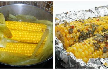 Варена кукурудза — в каструлі та духовці, особливі рецепти приготування.