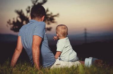 Маленький хлопчик однією фразою, повністю змінив спосіб життя свого батька.