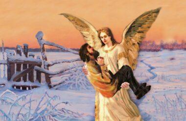 Якщо вам здається, що земля тікає з під ніг, то можливо ваш Ангел бере вас на руки. Чудова віршована притча саме про це.