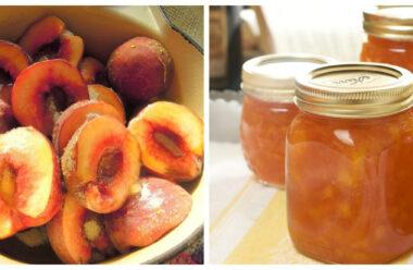 Неймовірно смачний джем із персиків «П'ятихвилинка». Готую кожного року