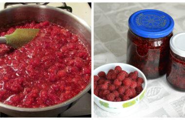 Смачне і корисне малинове варення за 5 хвилин