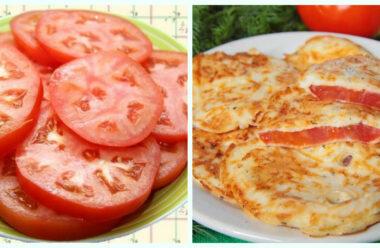 Літом, ці помідорки у клярі завжди з'їдаються першими. Смачно і швидко.