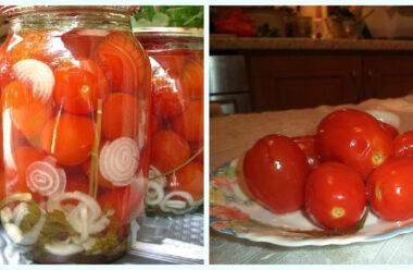 Особливі квашені помідори на зиму. Цей рецепт має бути у кожної господині.