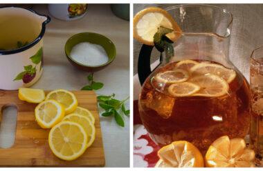 Відмінний рецепт чаю з лимоном, який вгамує вашу спрагу спекотним літнім днем.