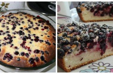 Кращі рецепти літнього пирога з чорною смородиною. Неймовірна смакота!