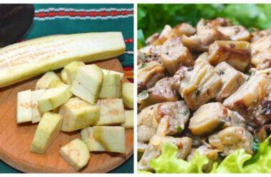 Дуже смачні смажені баклажани, на смак, як м'ясо. Готувати просто і швидко.