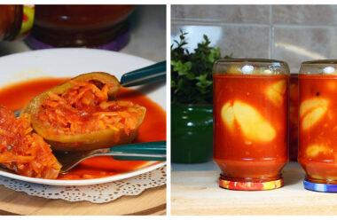 Неймовірно смачний консервований перець по-болгарськи «чарівна паличка».