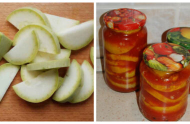 Неймовірно смачні кабачки в томатному соусі на зиму. Господині в скарбничку рецептів