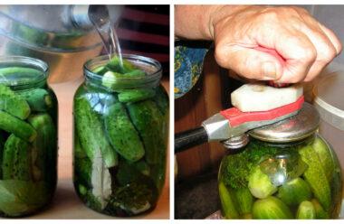Тільки перевірені рецепти для консервації огірків. Обов'язково збережіть собі їх.