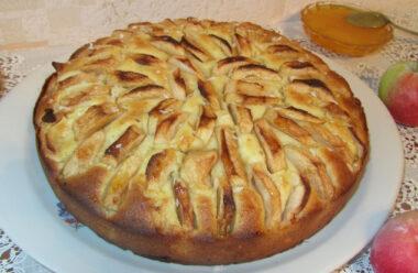 Особливий пиріг «Яблучний Спас». Його обов'язково потрібно приготовити на 19 серпня