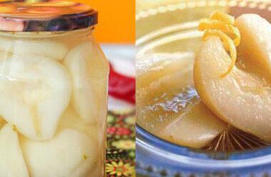 Найкращий рецепт груш в банках на зиму. Неймовірна насолода. Збережіть щоб не загубити.
