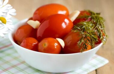 Смачнющі » Цукрові» помідори на зиму. Без стерилізації. Дуже простий рецепт.