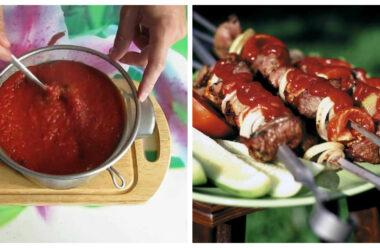 Домашній кетчуп до шашлику. В рази кращий ніж з магазину.