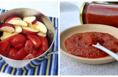 Особливий домашній кетчуп з яблуками. Рецепт по якому готовлять усі господині.