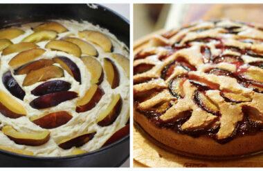 Особливий літній десерт: шоколадний пиріг зі сливами, неймовірно просто і смачно.