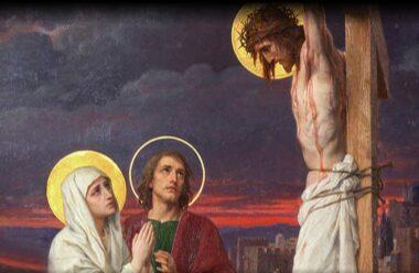 Моліться батьки за своїх діточок, Як Мати Святая молилась!