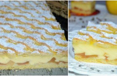 Хрустке яблучне тістечко, смакота яку варто спробувати. Забирайте собі рецепт.